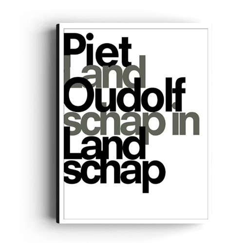 Boek Landschap In Landschap